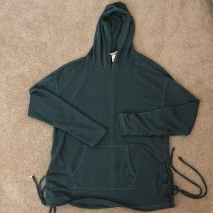 Teal lightweight sweatshirt